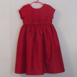Girls Cherokee Red Dress Size 5T Excellent